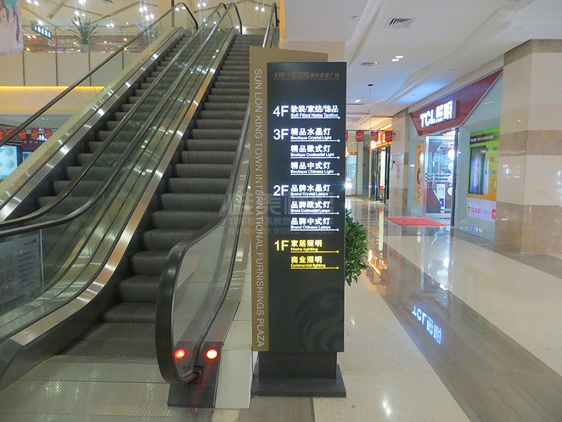 商场电梯标识牌
