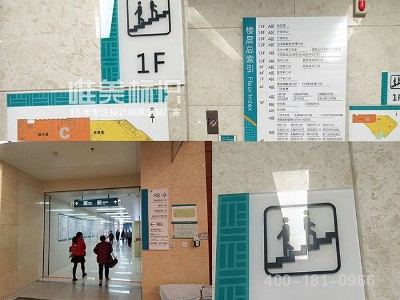 医院标识系统中的导向标识分类