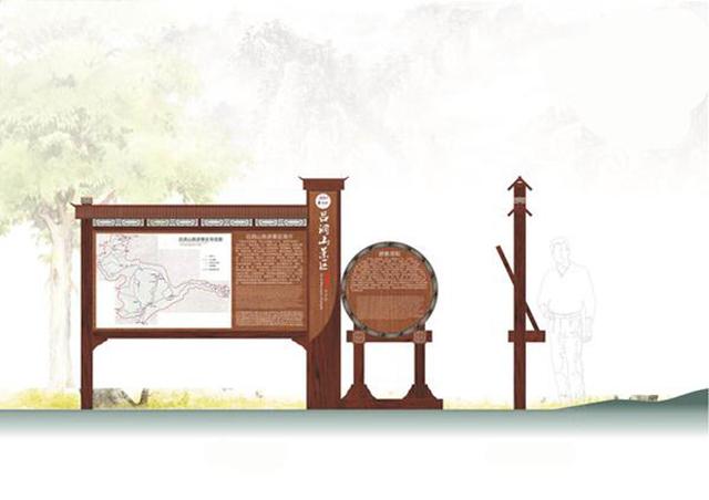 AAAA景区标识系统设计制作