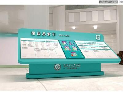 医院标识索引牌