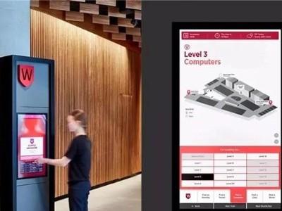 如何实现可触碰商场数字标识系统?