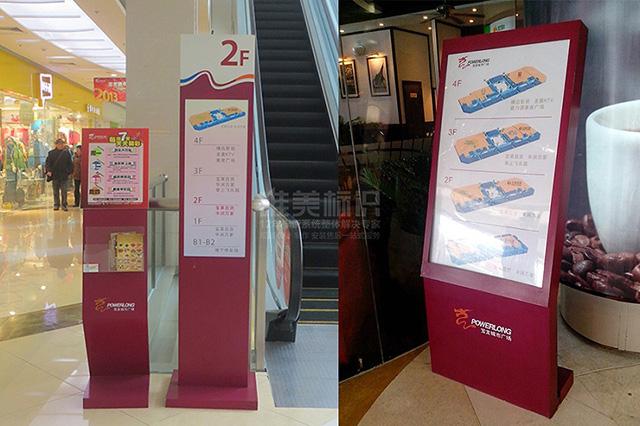 商场电梯楼层指示牌