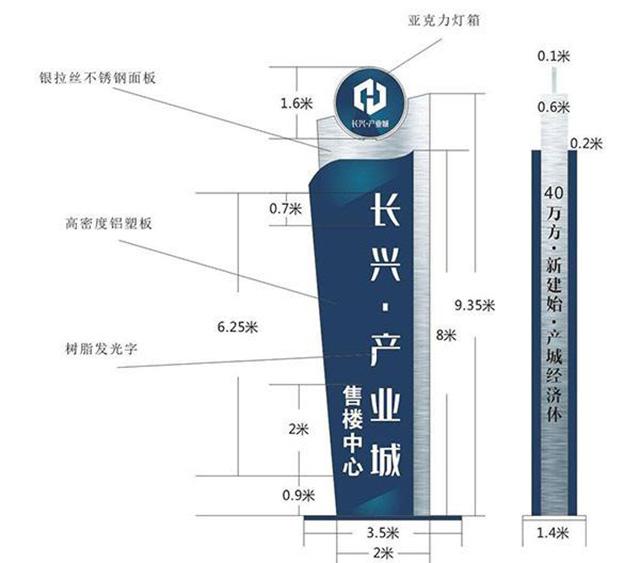 郑州精神堡垒标识