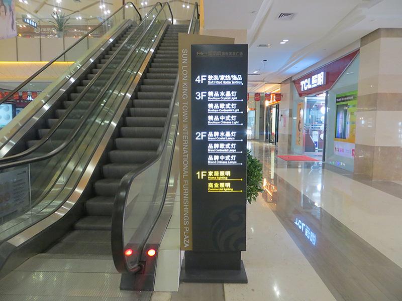 商场电梯多功能指示牌
