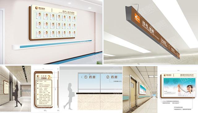 医院室内标识牌设计制作