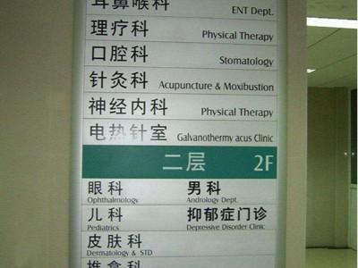 医院标识导视系统这样完善最合理