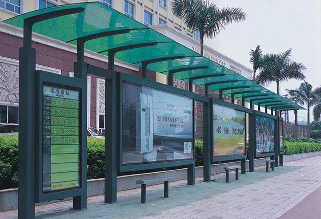 郑州公交车候车厅设计