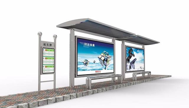 郑州公交车候车厅设计制作
