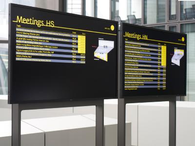 办公楼宇标识系统户外标识标牌的设计及规划