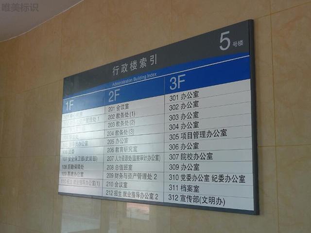 学校标识系统