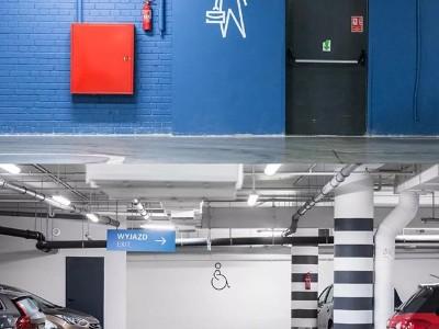 商场地下车库标识导视设计实操