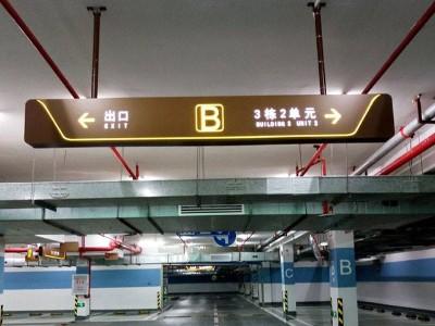 商场停车场标识系统人性化设计原则