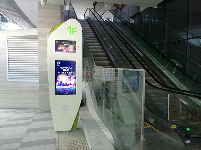 商场电梯索引标识牌