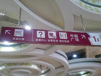 商场标识导视系统前期如何完善!