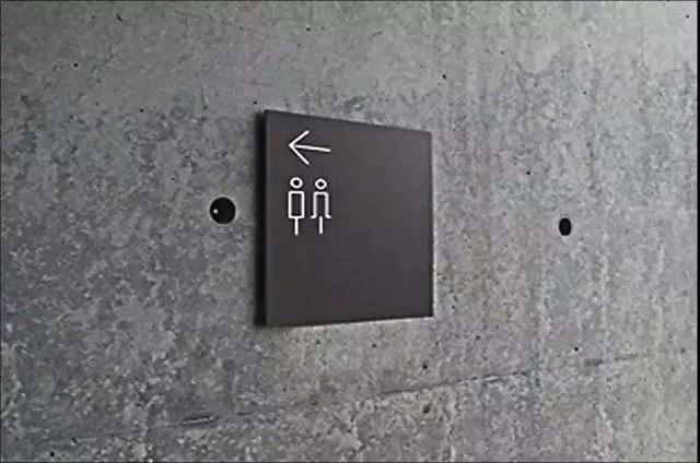 金属材质标识牌