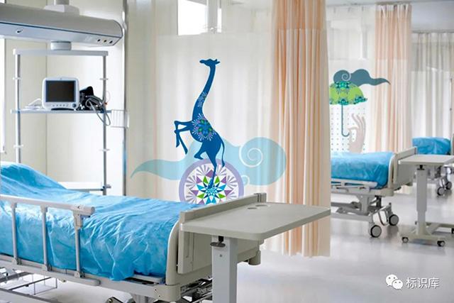 儿童医院病房内标识
