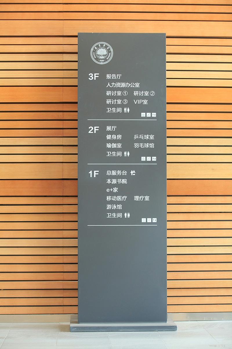 学校指示牌